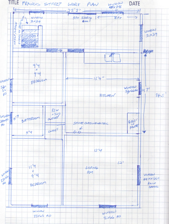 Fabulous I had already gone through the house and done a rough scale diagram as I always do for renovation projects u this forces me to think through what needs to