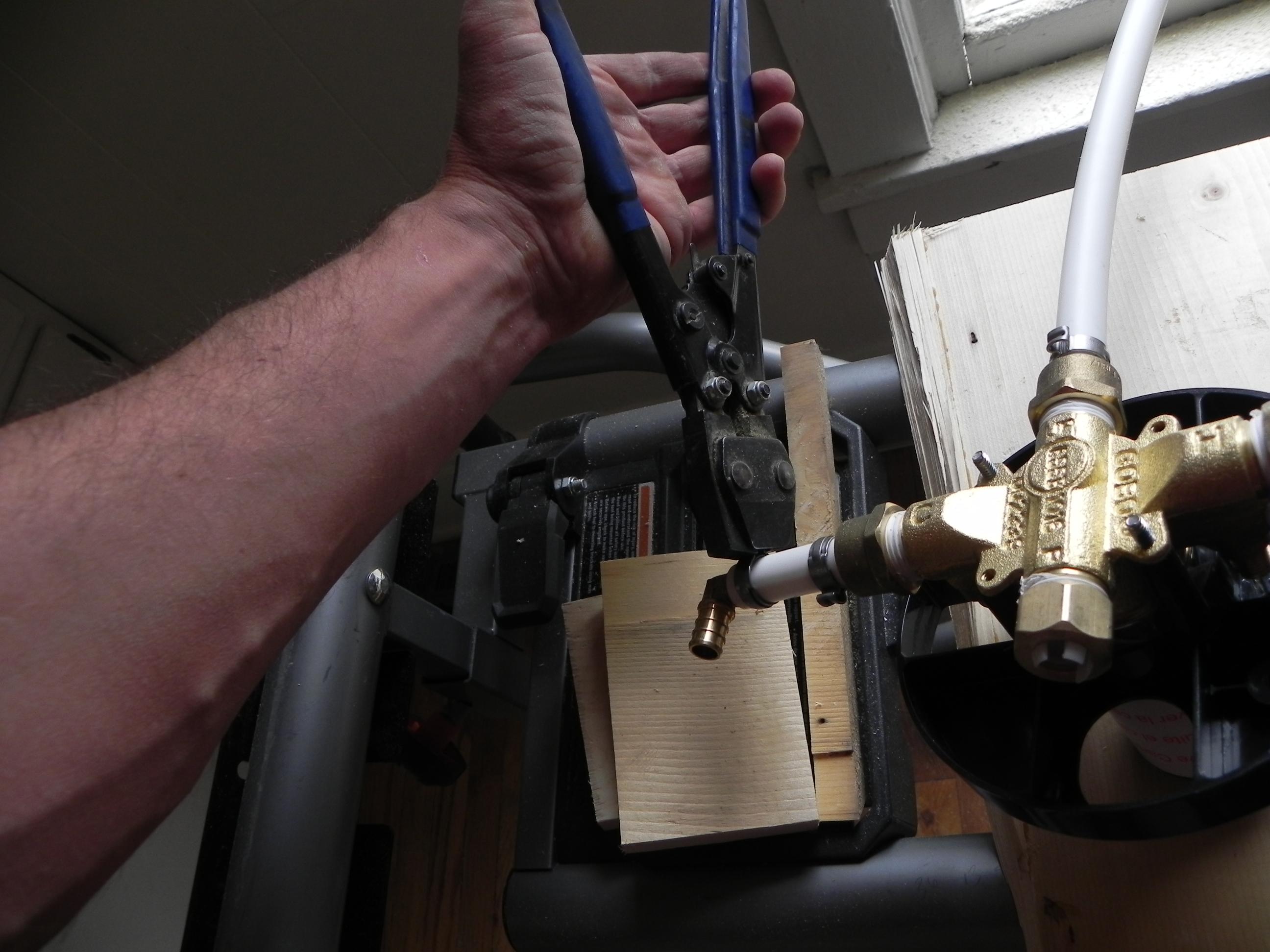 plumbing shark hose bite pipe tubing