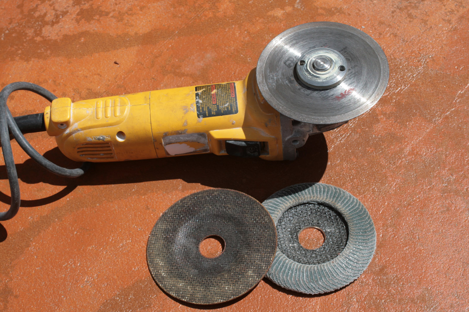 Hand Grinder Blades ~ Unlock your inner mr t by mastering metal