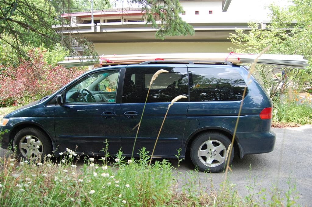 Minivan Roof Rack A DIY Roof Rack: Make your Small Car Carry Big Stuff