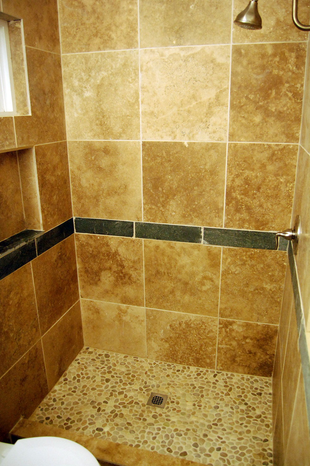 sheet tile for showers.  How to Make a Relatively Sweet Shower Cheap
