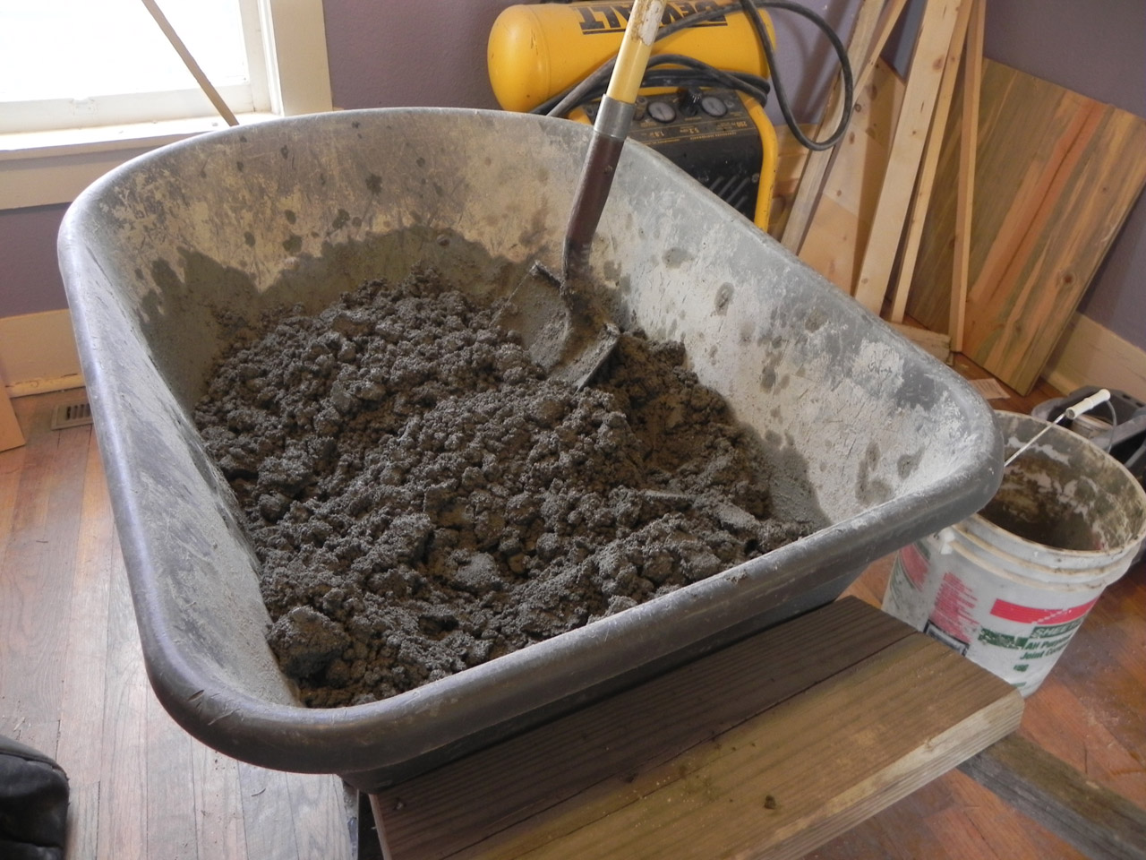 Shower Pan Concrete Mix.How To Make A Relatively Sweet Shower Cheap Mr Money