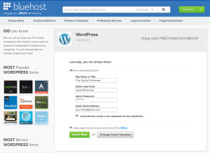 bluehost-almost-done
