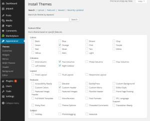 wordpress-theme-search