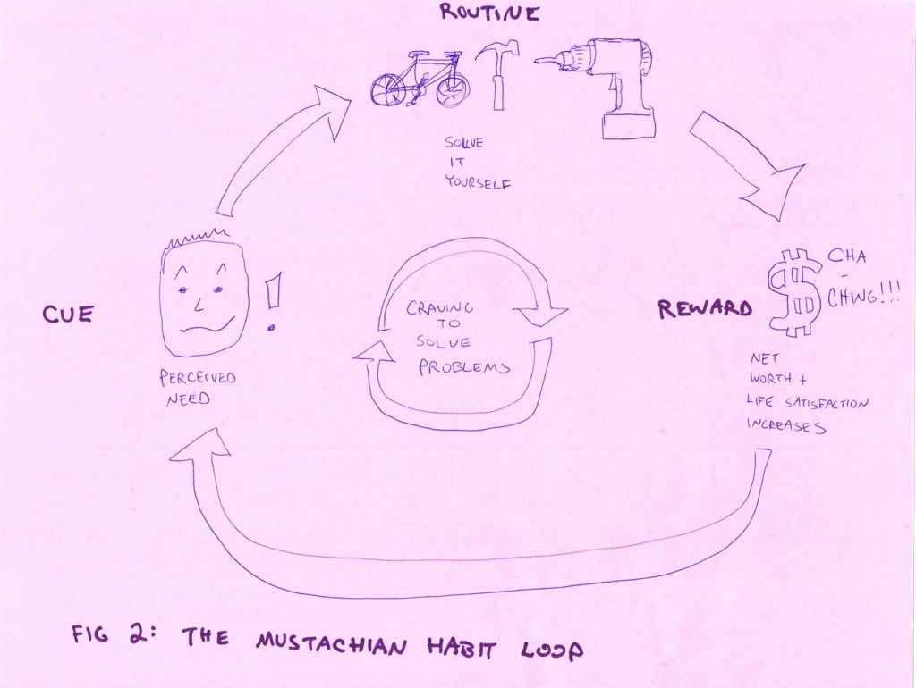 Figure 2: The Mustachian Habit Loop