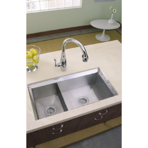 Score! A high-bling/high-quality sink for very close to free.