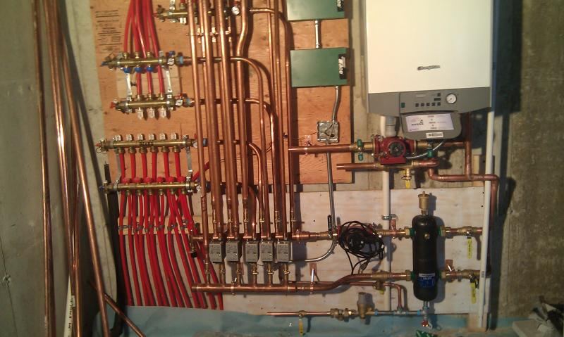 the radiant heat experiment on a seriously low budget boiler room