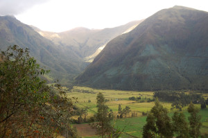 View from a hike around Otovalo last year