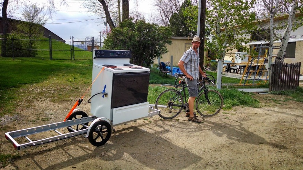 How To Carry Major Appliances On Your Bike