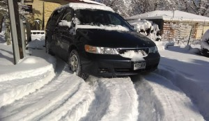 "Last year my van pulled a heavy load up a grassy hill covered with 8"" of snow.  Front wheel drive is more than enough."