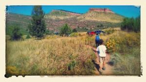 Hiking near home, fall 2014