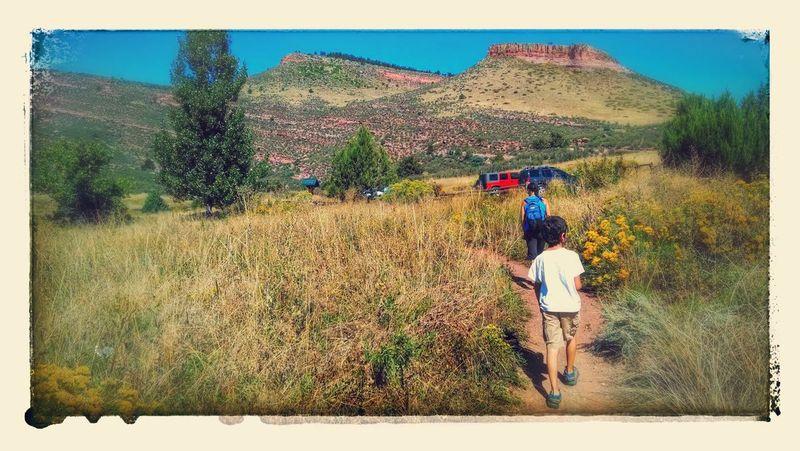 Hiking near home, fall 2013