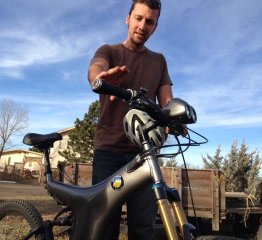 Testing the Optibike R-8, a $10,000 electric mountain bike.