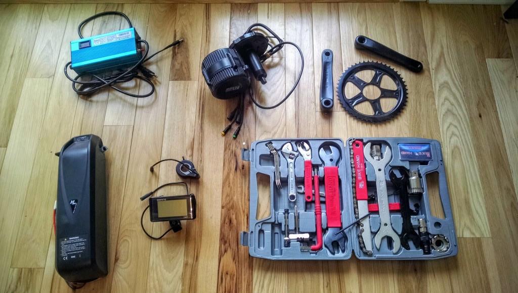 Recipe for a Badass DIY Electric Mountain Bike   Mr  Money