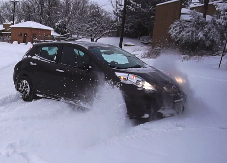 Electric Car Vs Winter Mr Money Mustache