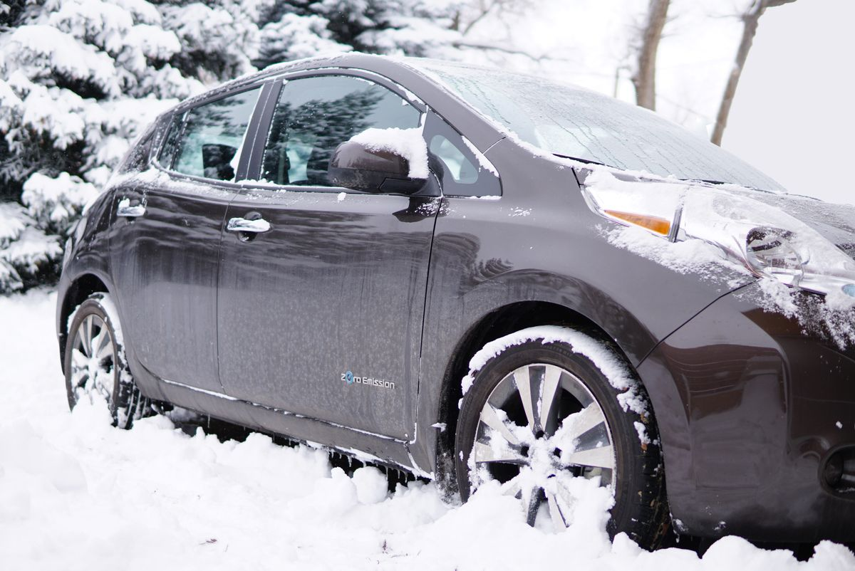 Electric Car vs. Winter